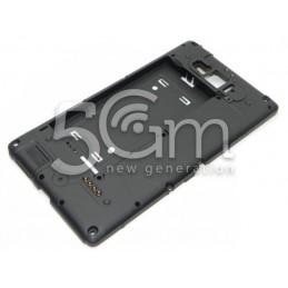 Nokia 820 Lumia Black Middle Frame
