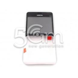 Nokia 210 Asha White Front Cover