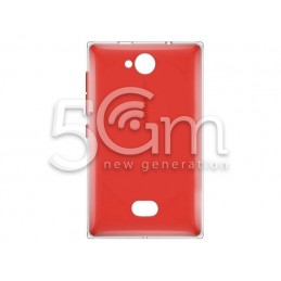 Nokia 503 Asha Red Back Cover