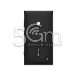 Nokia 525 Lumia Black Back Cover