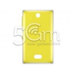 Retro Cover Giallo Nokia 500 Asha