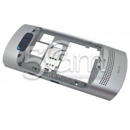 Nokia 303 Asha Full Silver Frame
