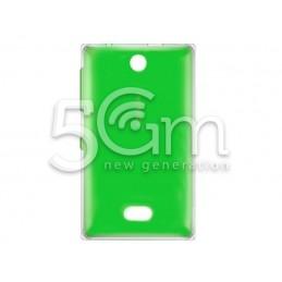 Retro Cover Verde Nokia 500 Asha