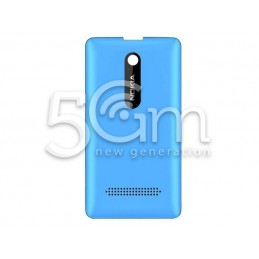 Nokia 210 Asha Blue Back Cover