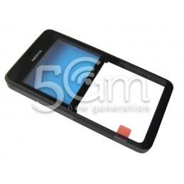 Nokia 210 Asha Black Front Cover