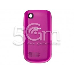 Nokia 200 Asha Pink Back Cover