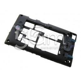 Nokia 503 Asha Dual Black Middle Frame
