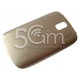 Nokia 302 Asha Gold Back Cover