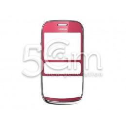 Front Cover Plum Red Nokia 302 Asha