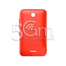 Retro Cover Bright Red Nokia 230 Asha