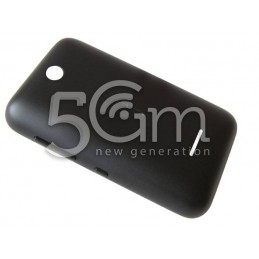 Nokia 230 Asha Black Back Cover
