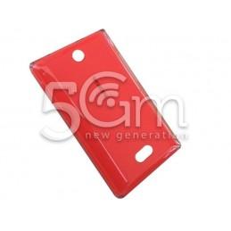 Retro Cover Rosso Nokia 500 Asha
