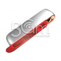 Top Cover Grigio Silver Nokia E7