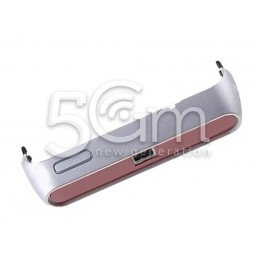 Cover Inferiore Silver Nokia N8