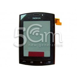 Nokia 303 Asha Full Black Touch Screen