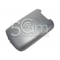 Nokia 303 Asha Silver Back Cover