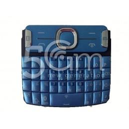 Tastiera Mid Blue Nokia 302 Asha