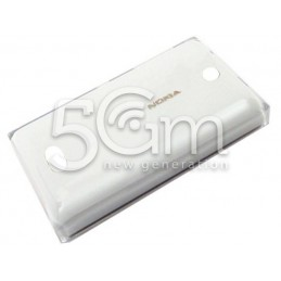 Retro Cover Bianco Nokia 500 Asha