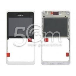 Nokia 210 Asha Dual White Front Cover