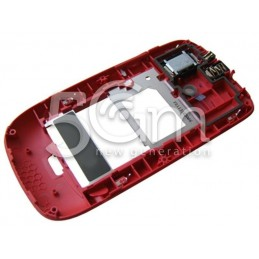 Middle Frame Completo Rosso Nokia 302 Asha