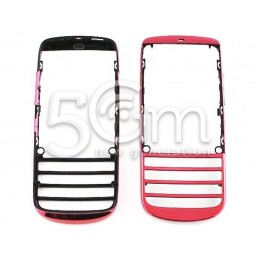 Nokia 300 Asha Pink Front Cover
