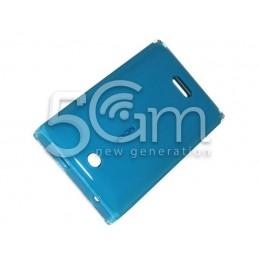 Retro Cover Blue Nokia 500 Asha