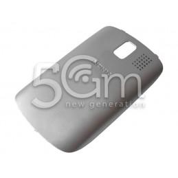 Nokia 302 Asha Silver Back Cover