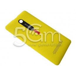 Nokia 210 Asha Yellow Back Cover
