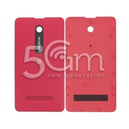 Nokia 210 Asha Magenta Red Back Cover