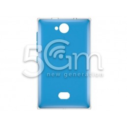 Nokia 503 Asha Blue Back Cover