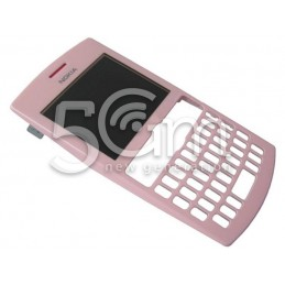 Nokia 205 Asha Soft Pink Front Cover