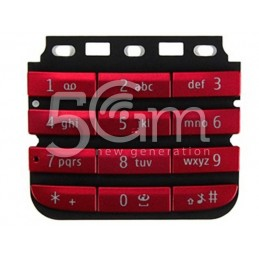 Nokia 300 Asha Red Keypad