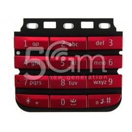 Tastiera Rossa Nokia 300 Asha
