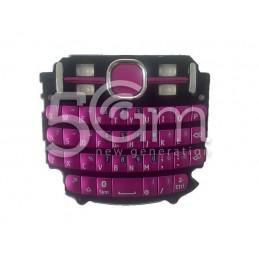 Tastiera Pink Nokia 200 Asha