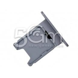 Supporto Sim Card Grigio-Nero Nokia 920 Lumia