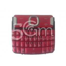 Nokia 302 Asha Plum Red English Keypad