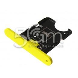 Nokia 1020 Lumia Yellow Sim Card Holder
