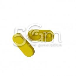 Tasto Di Blocco Esterno Giallo Nokia 500 Asha