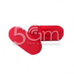 Tasto Di Blocco Esterno Rosso Nokia 500 Asha
