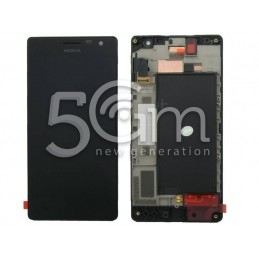 Nokia 735 Lumia Black Touch Display + Frame