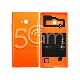 Nokia 730-735 Lumia Orange Back Cover