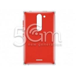 Retro Cover Rosso Nokia 502 Asha