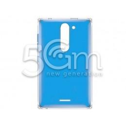Retro Cover Blu Nokia 502 Asha