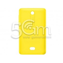 Retro Cover Giallo Nokia 501 Asha