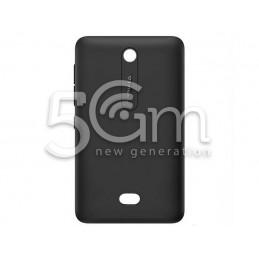 Nokia 501 Asha Black Back Cover