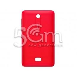 Retro Cover Rossa Nokia 501 Asha
