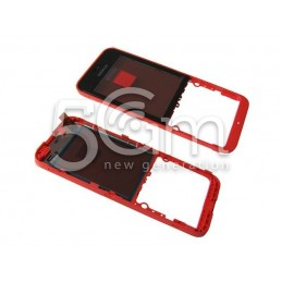 Middle Frame Rosso Nokia 220