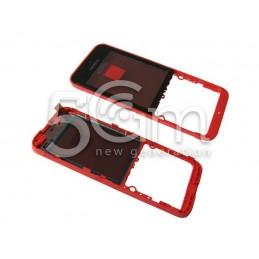 Middle Frame Rosso Nokia 220