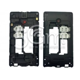 Nokia 435 Lumia Black Middle Frame