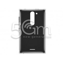 Nokia 502 Asha Black Back Cover